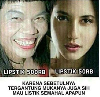 Perbedaan Kecantikan Cewek Jaman Dulu Dan Sekarang