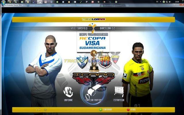 Parche Sudamericano Todas Las Ligas Icaro'13 PES 2013