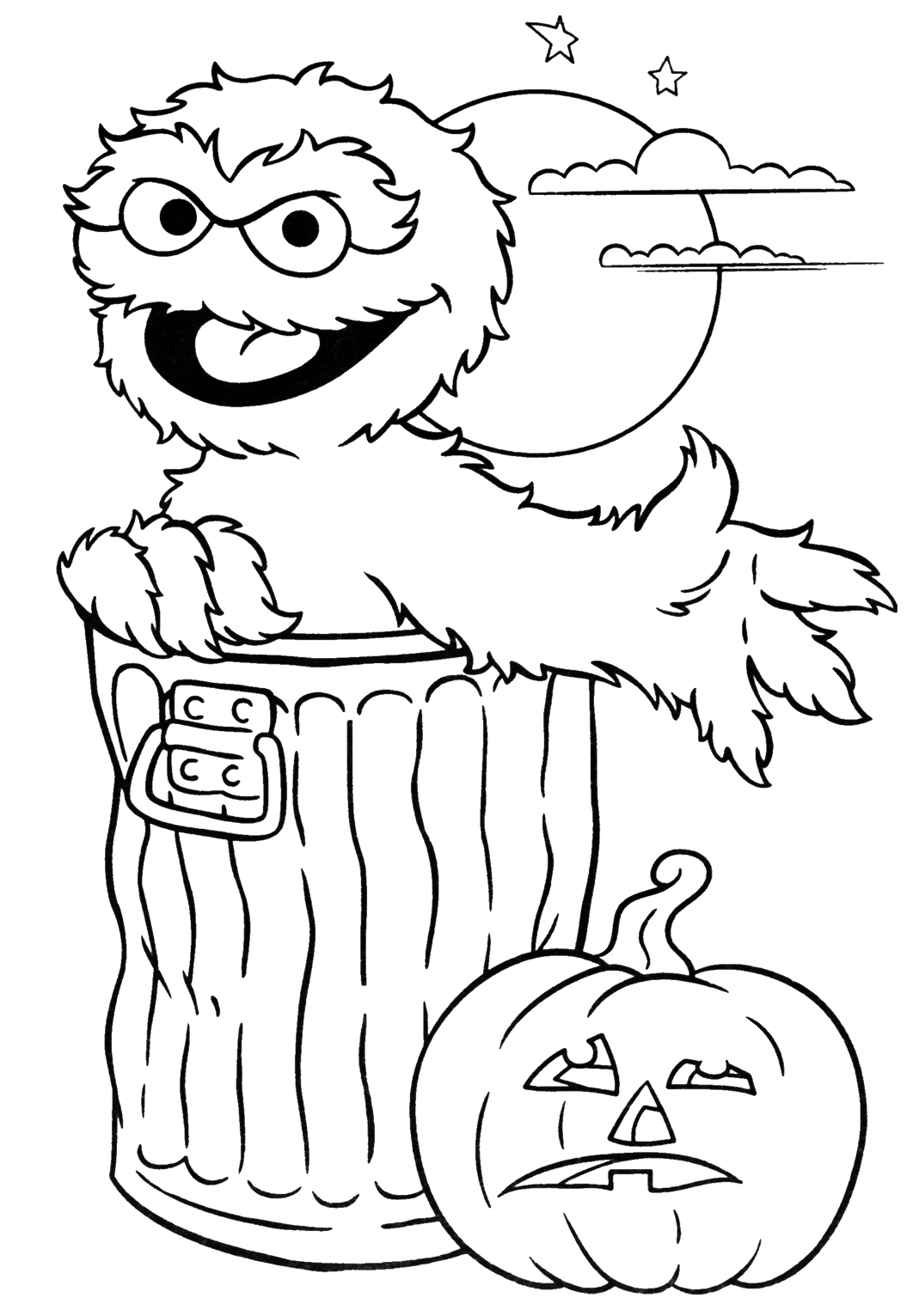 Halloween Printable Coloring Pages - Minnesota Miranda