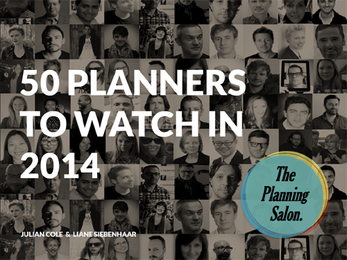 top 50 account planners strategists