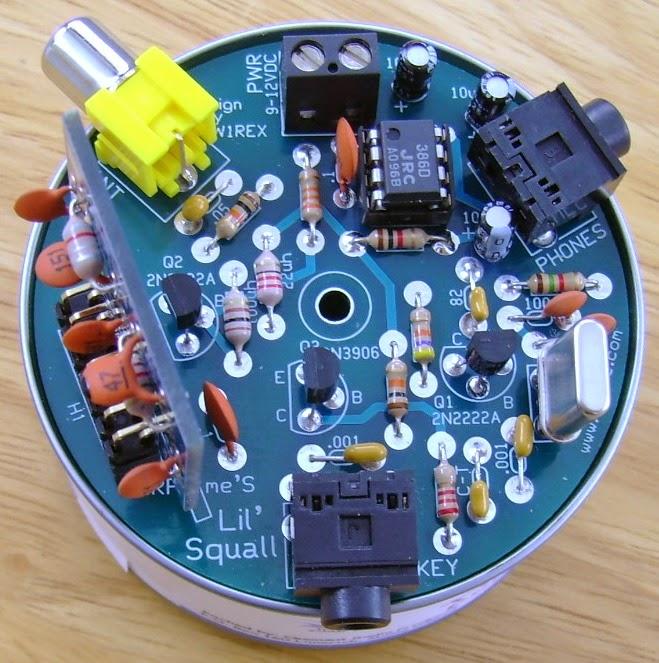 Improved 3 Transistor Audio Amp 80 Milliwatt