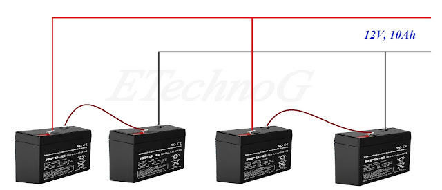Battery Wiring in Series and Parallel