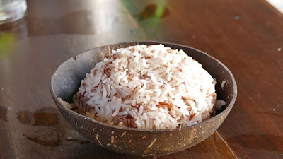 Steamed Sticky Rice, Thai Style