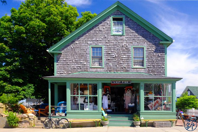 Le Chameau Bleu - Blog Voyage Block Island -Architecture typique de la Nouvelle Angleterre - Block Island - USA