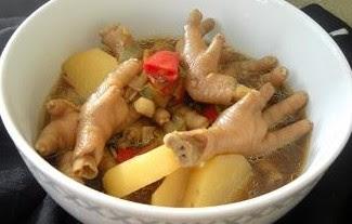 Resep Sop Ceker Ayam Istimewa Sedap Nikmat