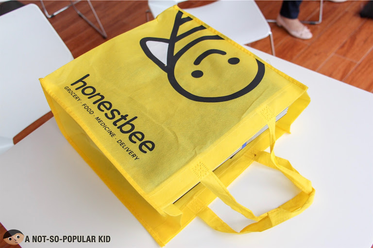 Honestbee's food delivery service