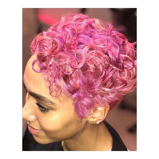 short curly hair 2019