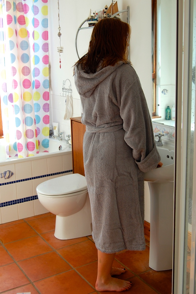G is for Gingers: The Towel Shop Egyptian Cotton Bathrobe