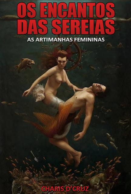[Livro] Os Encantos das Sereias - Charis D'Cruz Capa