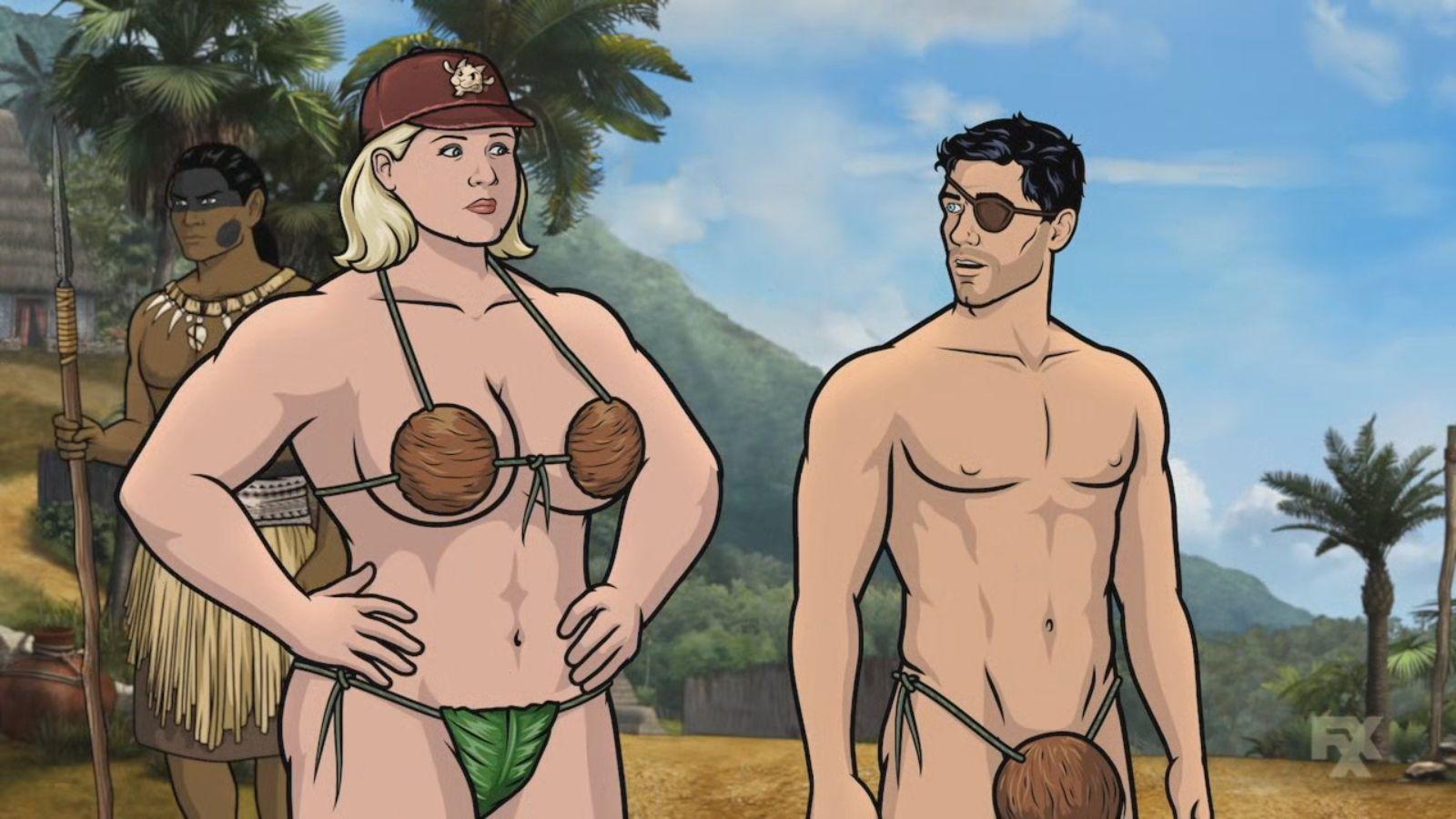 Archer photo cartoon porn