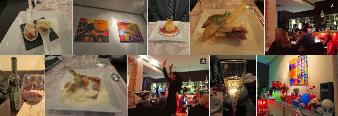 New Year's Eve Dinner at Vino Mio in Málaga, Spain