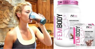 Fem protein en el batido justo después de entrenar