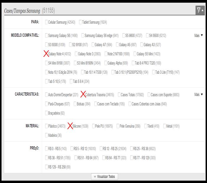 Samsung Galaxy S6 (1490)Samsung Galaxy S6 edge (641)S5 i9600 (4727)S4 I9500 (6211)S3 I9300 (5109)S2 I9100 (917)Galaxy A7 (564)Galaxy A5 (687)Galaxy A3 (526)Galaxy Note 4 (4012)Galaxy Note 3 (2983)Note 2 N7100 (1688)Galaxy S5 Mini (1424)S4 Mini I9190 (3007)S3 Mini I8190N (2453)Galaxy Alpha (609)Tab 8.4 PRO T320 (100)Nota 10,1 Edição 2014 (76)Tab 10.1 4 T530 (128)Tab 3 10.1 (P5200/P5210) (104)Tab 3 Lite (T110) (147)Tab S 10,5 (178)Tab S 8.4 (204)