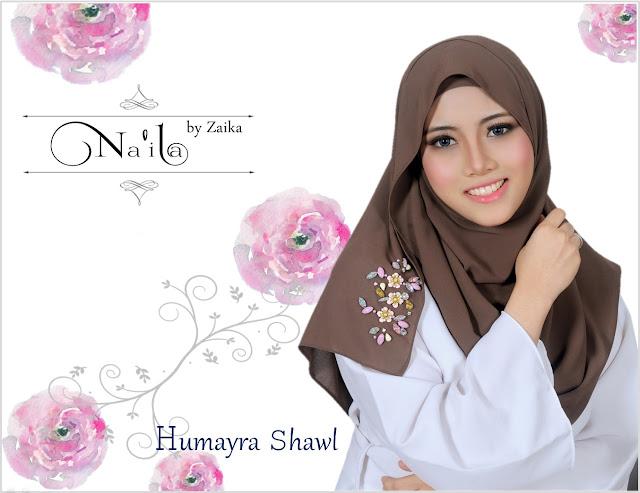 Na'ila Shawl By Zaika  Humayra Shawl