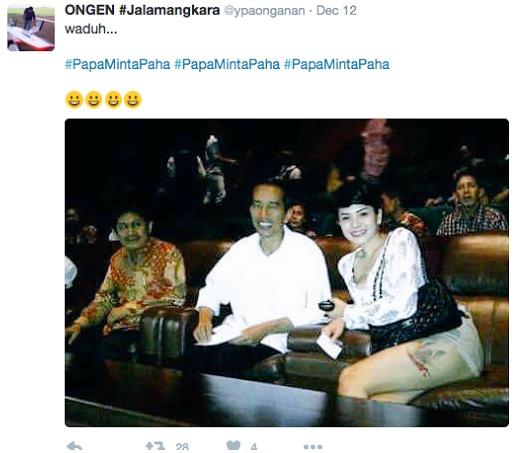Isu Jokowi layan pelacur