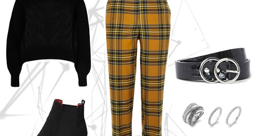 Want to wear | Yellow clueless pants