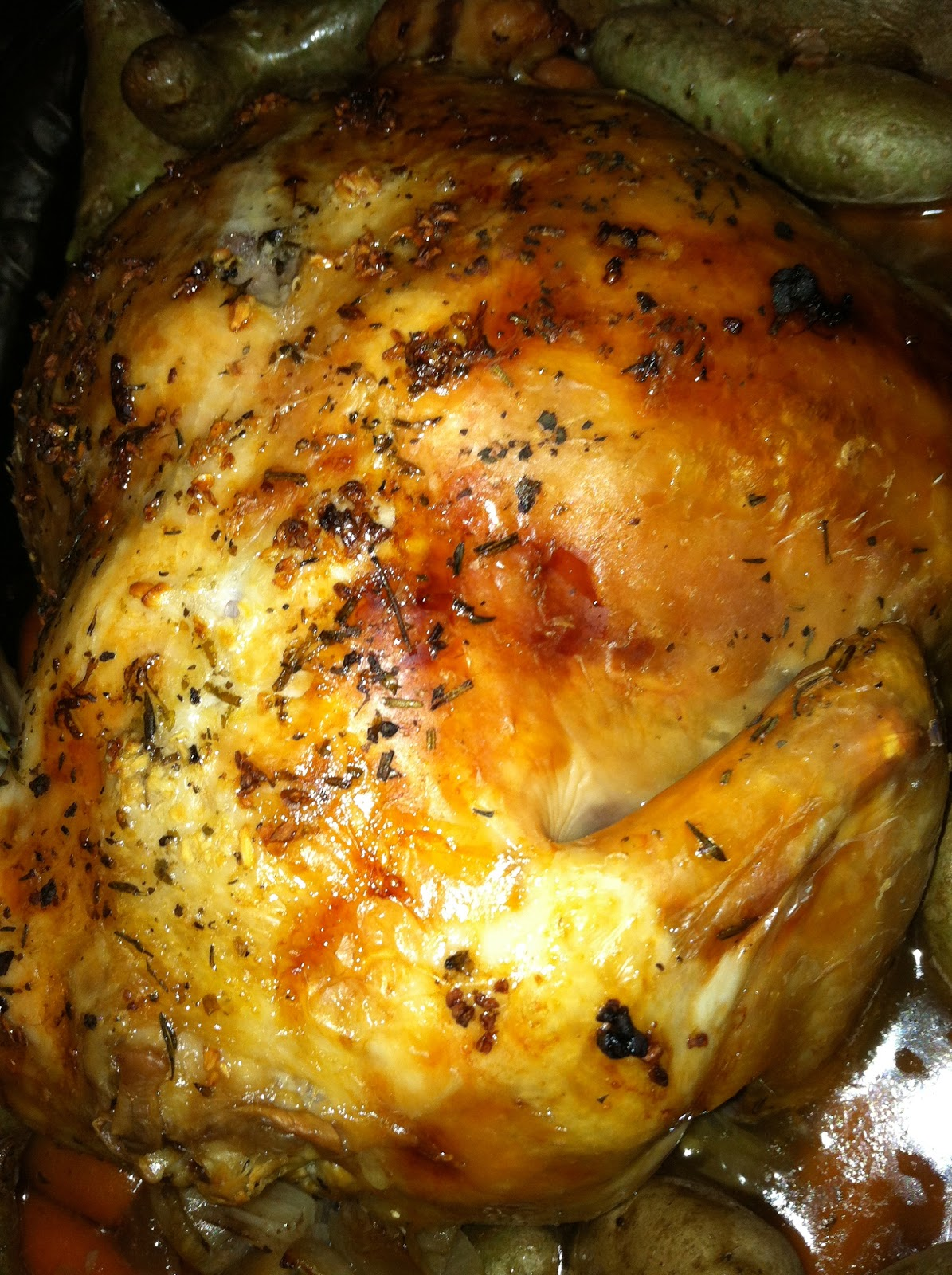 Melicipes Whole Chicken Crock Pot Recipe-9429