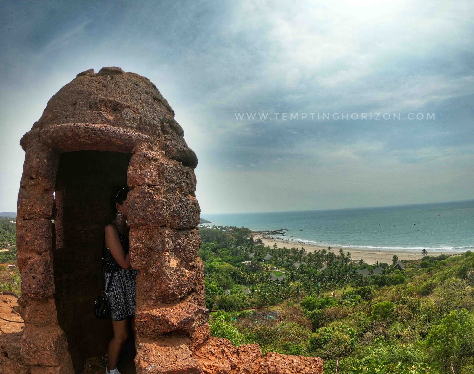 roadtrip to goa - chapora fort