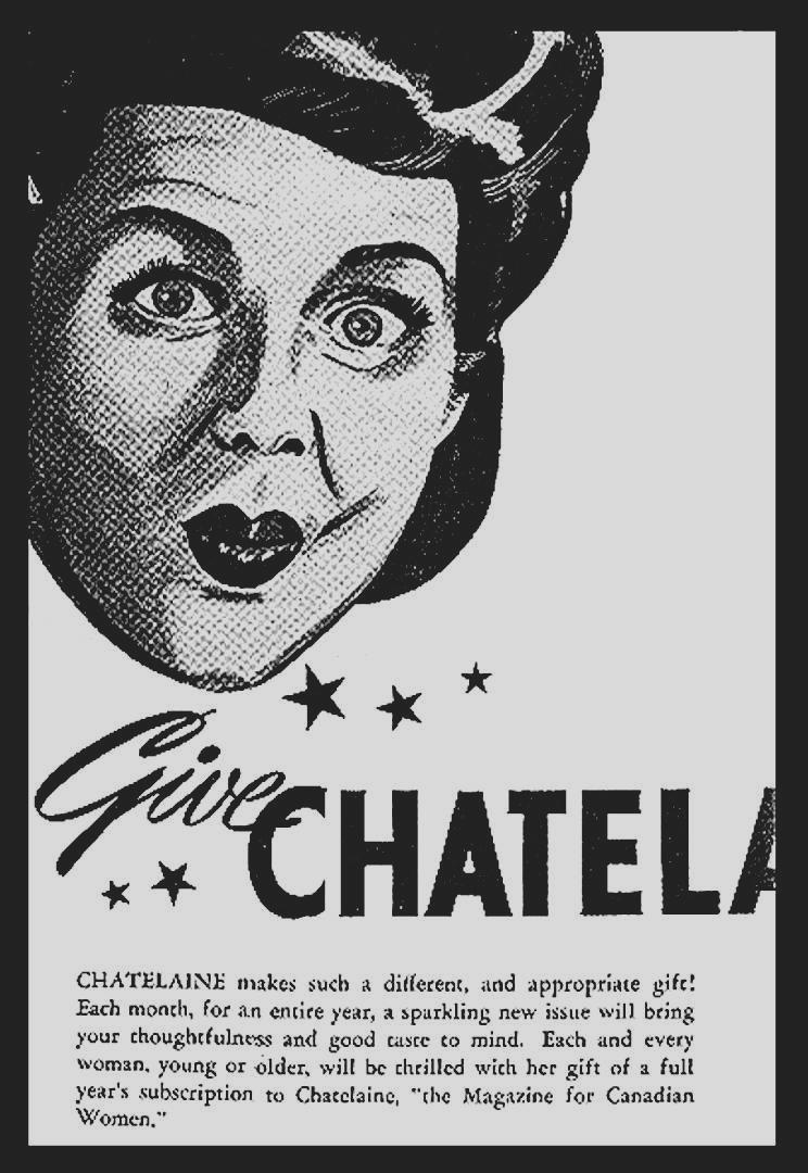 Chatelaine Magazine, 1940s