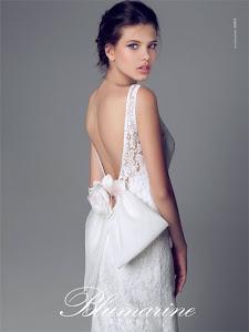 abito da sposa a sirena Blumarine 2014
