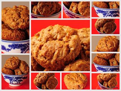 Banaan & peer muffin