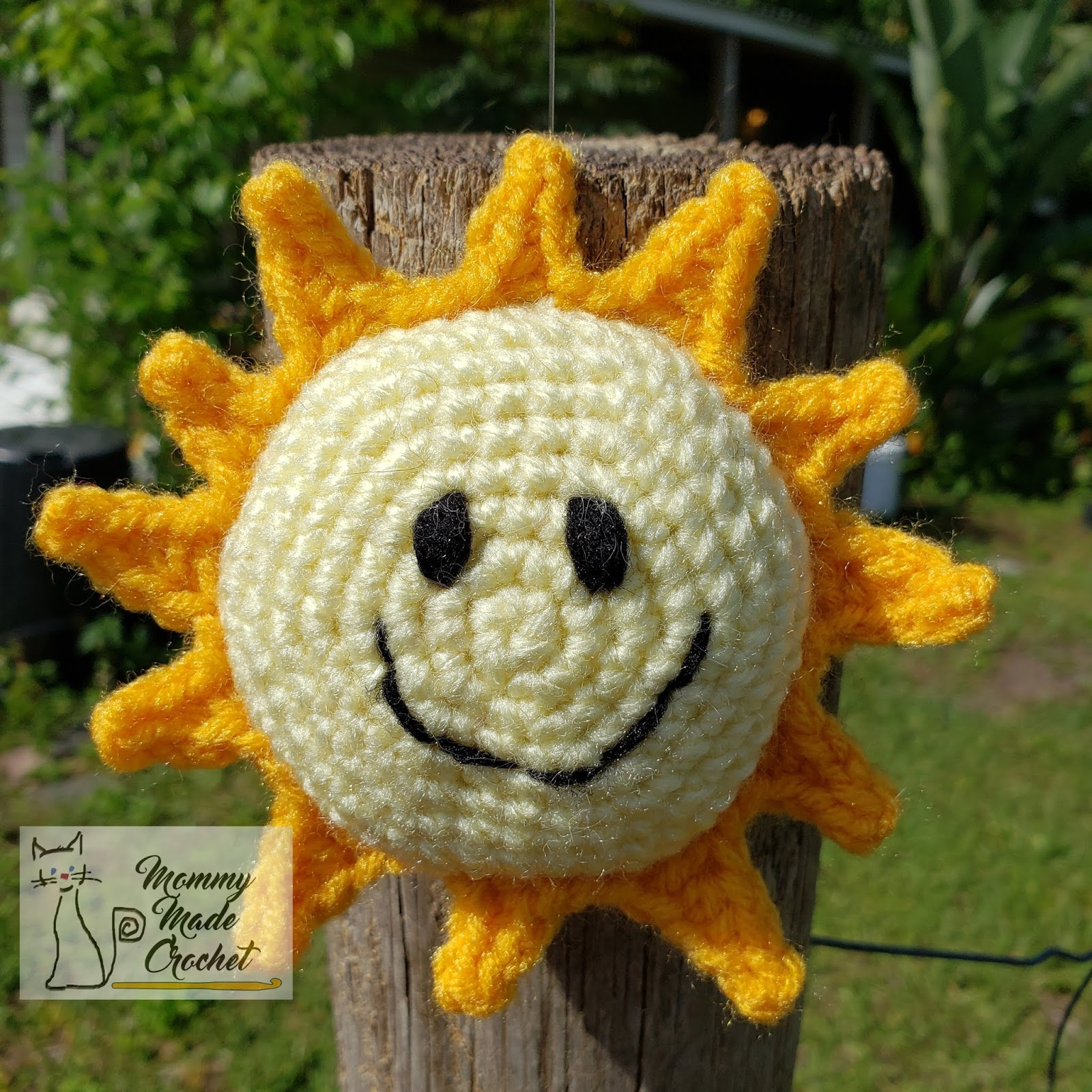 "Amigurumi – Crochet Small Sun ""Sunshine"" - premium & free patterns ... 