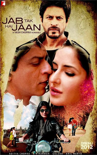 Poster Of Jab Tak Hai Jaan 2012 720p Hindi BRRip Full Movie Download