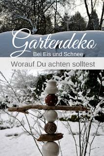 Gartenkeramik im Winter - worauf achten?