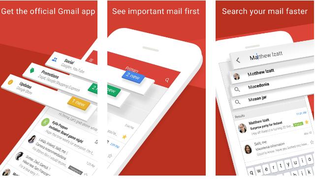 iOS için Yeni Gmail Uygulaması
