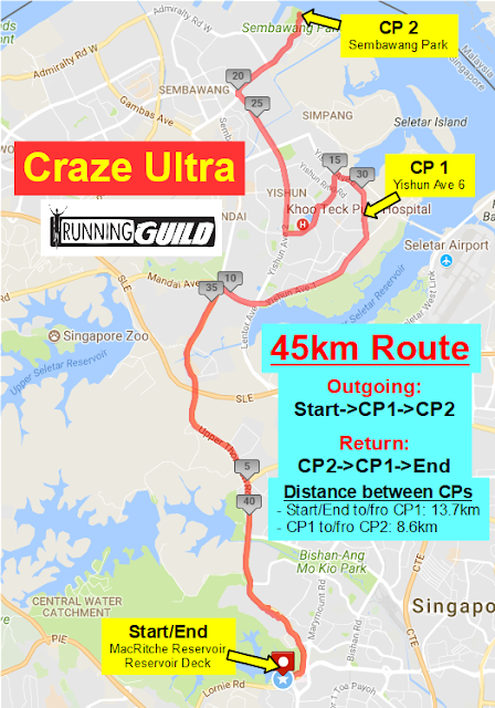 45km+route+map+with+CP+%2526+5km+markers