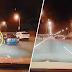 (Video) SUV tercampak dalam laut selepas dilanggar Vios yang dipandu laju