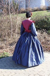 Gwendolyn Grey Back To The 1860s Finally A New Dress