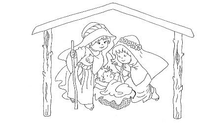 Dibujos Infantiles Imagenes Cristianas Dibujos De Pesebre Para