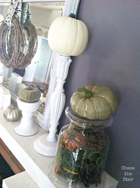 https://www.hellolifeonline.com, fall, mantel, autumn, diy, crafts