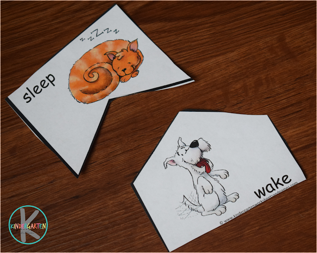 free printable opposites activity for kindergarten, first grade, 2nd grade kids