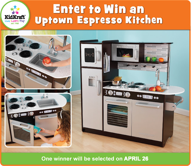 KidKraft Toys & Furniture: Enter To Win An Uptown Espresso