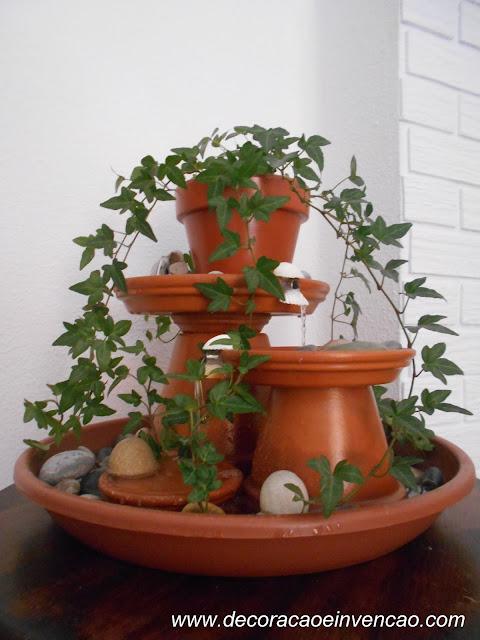 como fazer uma fonte ornamental