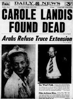 Carole Landis Daily News