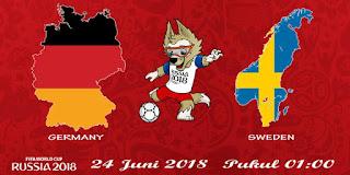 Prediksi Pertandingan Antara  Germany vs Sweden 24 JUNI 2018