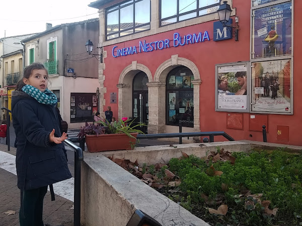 Sortie en famille - Le cinéma Nestor Burma