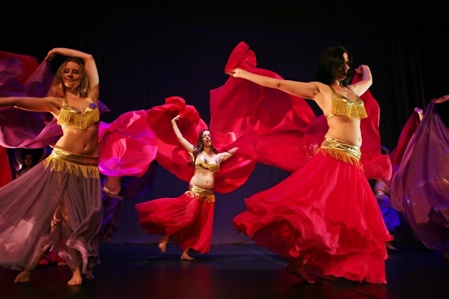 Danças na Turkish Night na Capadócia