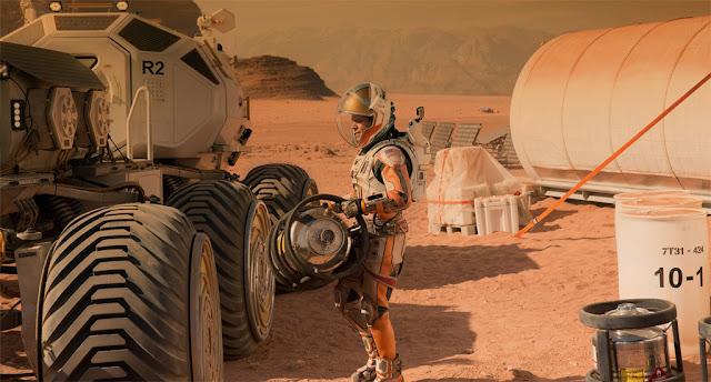 cena do filme The Martian