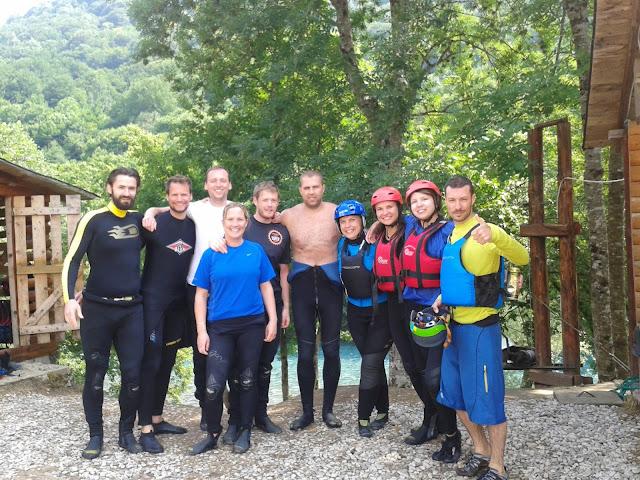 Final de rafting pe Tara, Bosnia si Hertegovina
