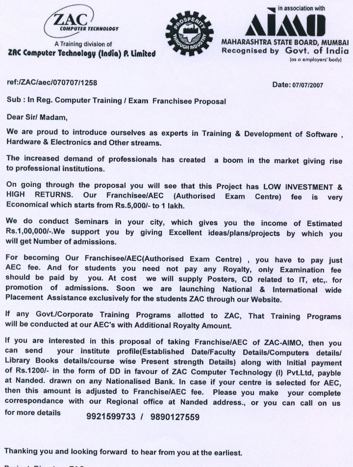 Write a business proposal letter sample – Samples of Written Business Proposals