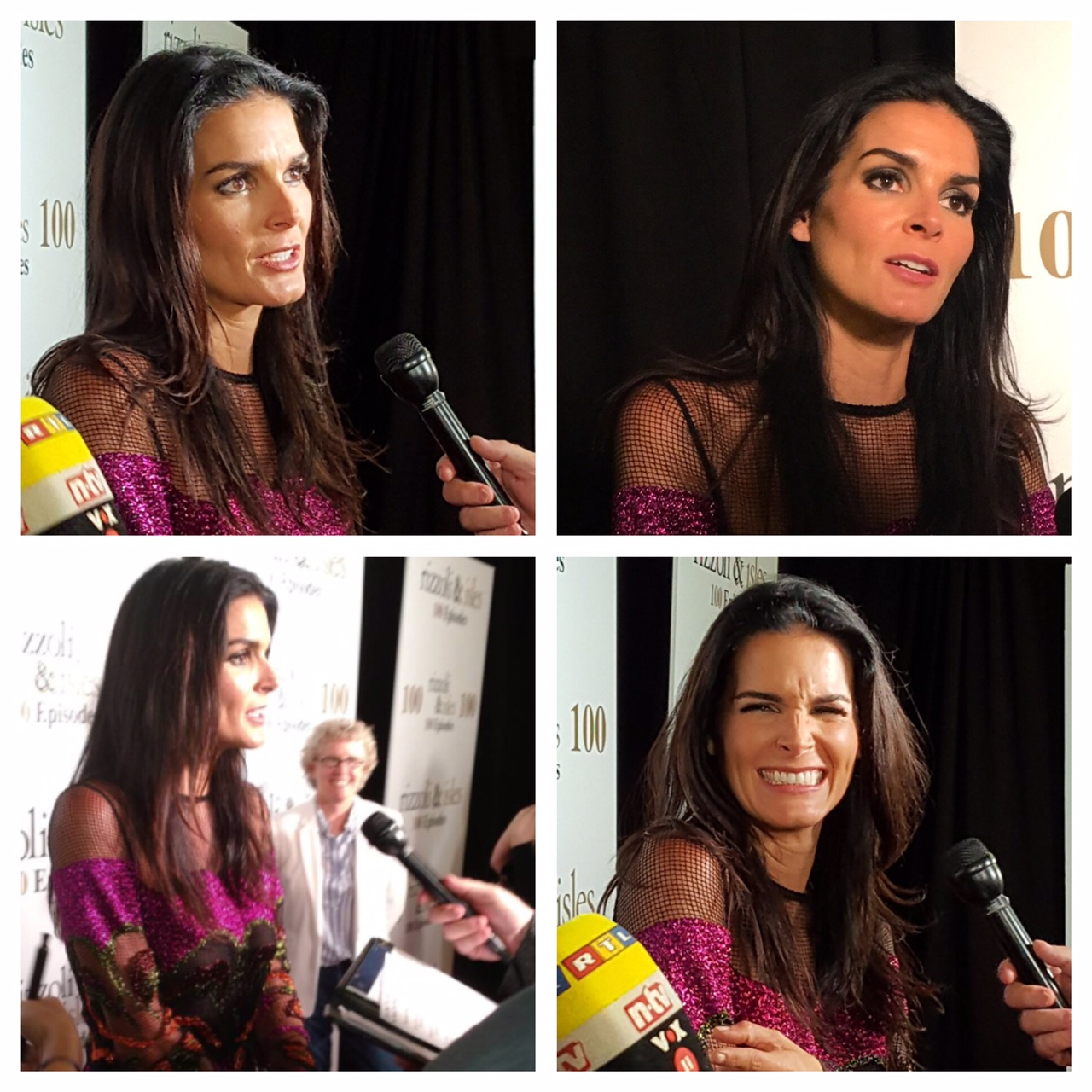 Absolutely Angie Harmon Roundup Angie Harmon Attends Rizzoli