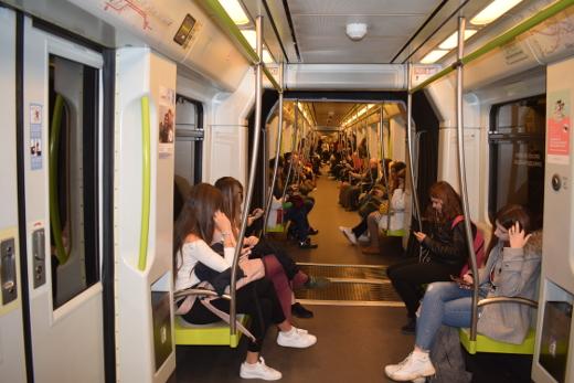Metrovalencia desplazó en octubre a más de 6 millones de viajeros