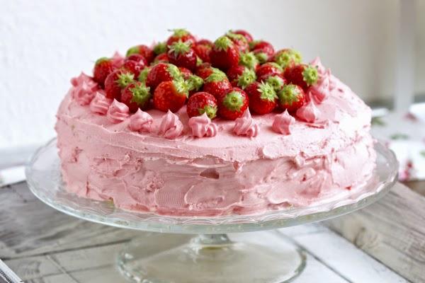 ich backs mir Erdbeertorte Erdbeeren Muttertag