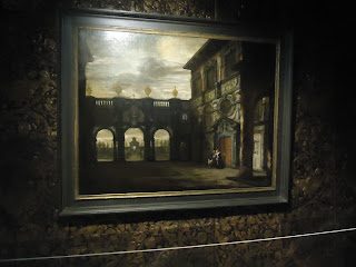 Inside Rubens House Antwerp Belgium painting
