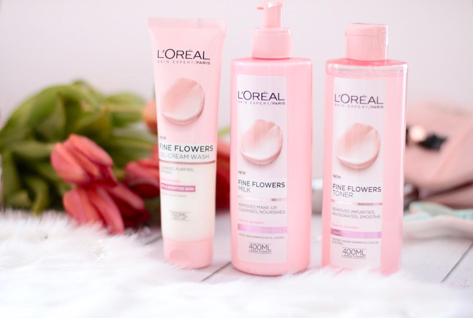L'oreal Paris Fine Flowers - Pielęgnacja dla cery suchej i wrażliwej