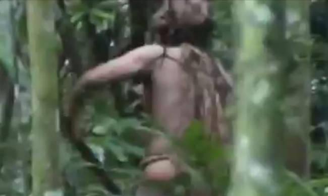 Ο τελευταίος επιζών φυλής του Αμαζονίου – Ζει μόνος στη ζούγκλα 22 χρόνια (vid)